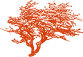 Charis Boke Hawthorn Tree Logo